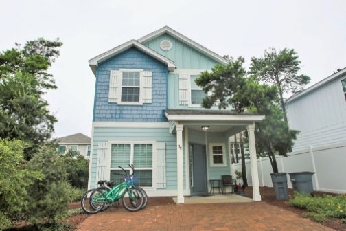 30a Beach House Vacation Rental with Bikes by Panhandle Getaways