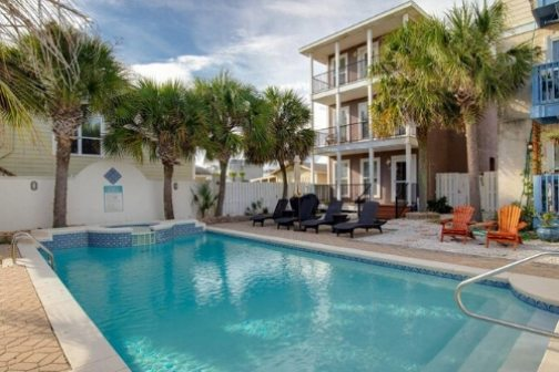Beach House Vacation Rental Anchors Away