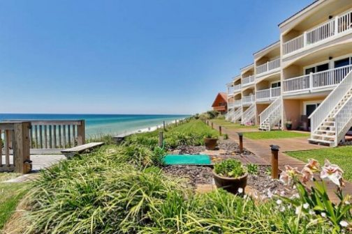 Blue Tide Beach Townhome Vacation Rental on 30A
