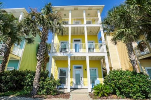 Townhome Vacation Rental with Private Pool - Panama City Beach