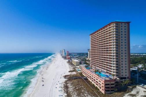 Sunrise Beach 1402 Vacation Rental in PCB
